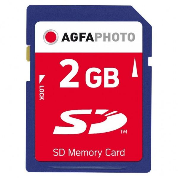 AGFA Photo SD 2 GB Secure Digital Speicherkarte