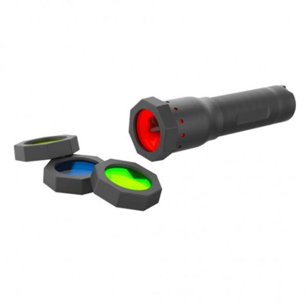 LED LENSER Filter Set für H14.2 H14R.2 P7 P7.2 P7R T7P - 100879
