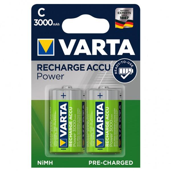 VARTA Akku NiMH Baby C 1.2V/3000mAh Direct Energy Ready2Use 2er Blister