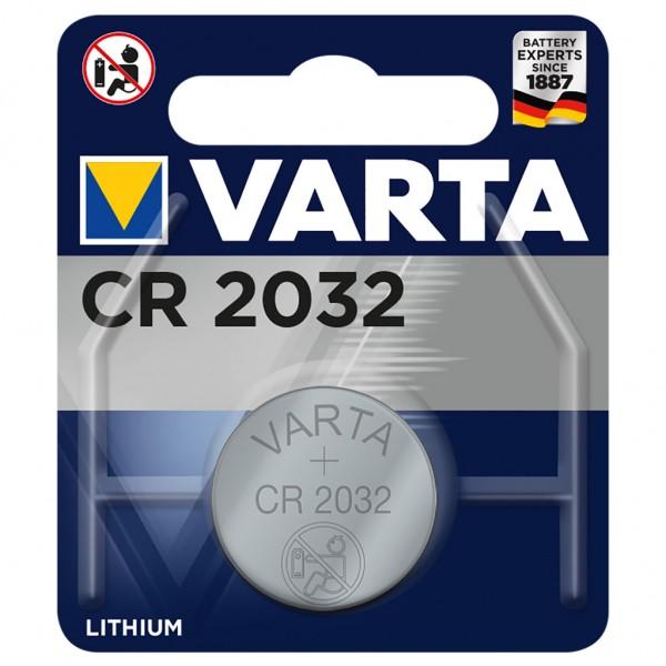 VARTA Batterie Lithium Knopfzelle CR2032 3V Professional Electronics Blister