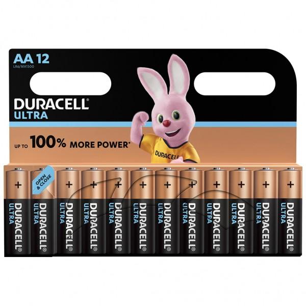 DURACELL AA Ultra Power Batterie Alkaline Mignon LR06 1.5V 12er Blister