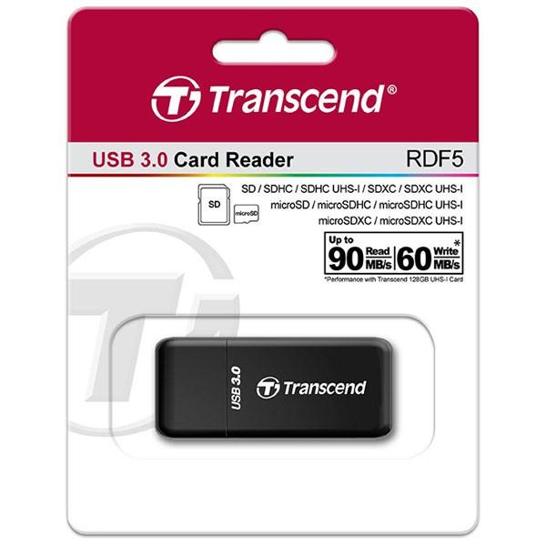 Transcend TS-RDF5K USB 3.0 Reader für SDHC/SDXC/microSD/microSDHC/microSDXC