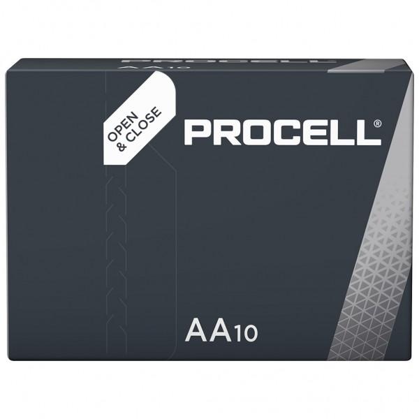 DURACELL 10er Industrial Batterien Alkalin Mignon AA