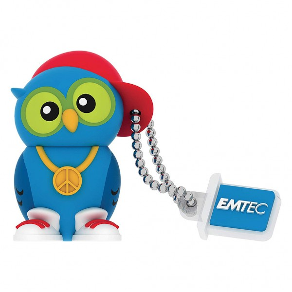 EMTEC USB Stick 16 GB DJ Owl - ECMMD16GM341