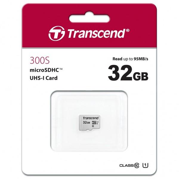 Transcend microSDHC 300S 32 GB Class 10 UHS-I U1