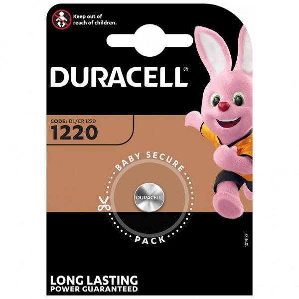 DURACELL 1er Blister Knopfzelle Batterie Lithium CR1220 3V