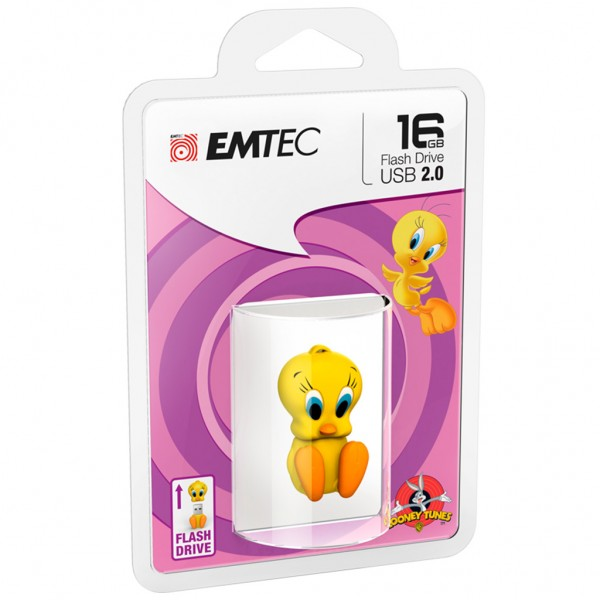 Emtec USB FlashDrive 16GB Looney Tunes (Tweety)