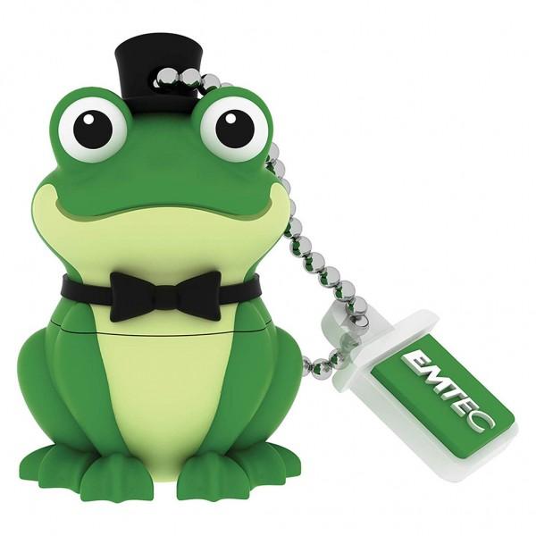 EMTEC USB Stick 16 GB Crooner Frog - ECMMD16GM339