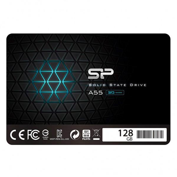 "Silicon Power A55 SSD 2,5"" 128 GB 3D Nand TLC SATA III Festplatte"
