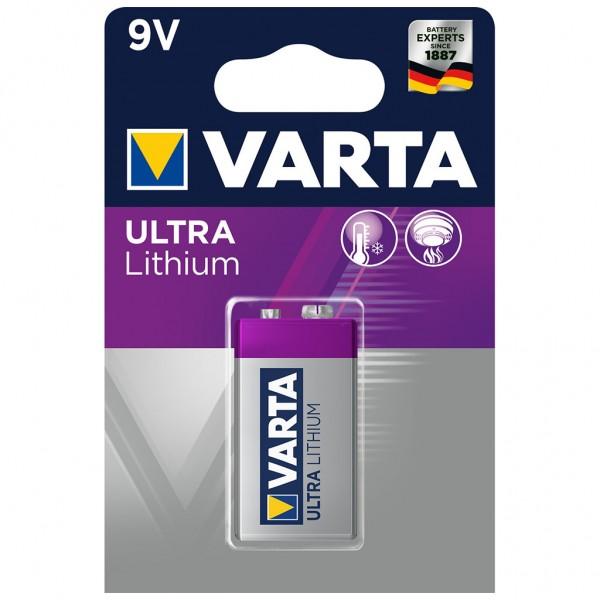 VARTA Batterie Lithium E-Block 6FR61 9V