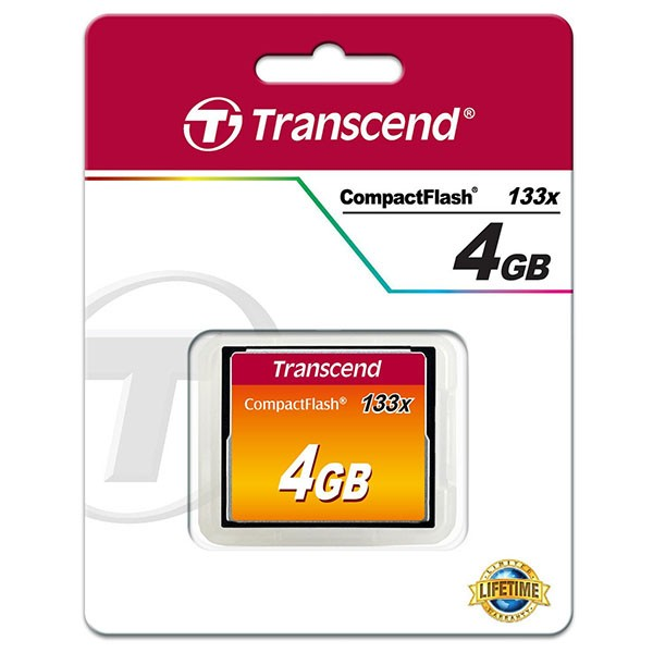 Transcend Compact Flash 4 GB Ultra Speed 133x