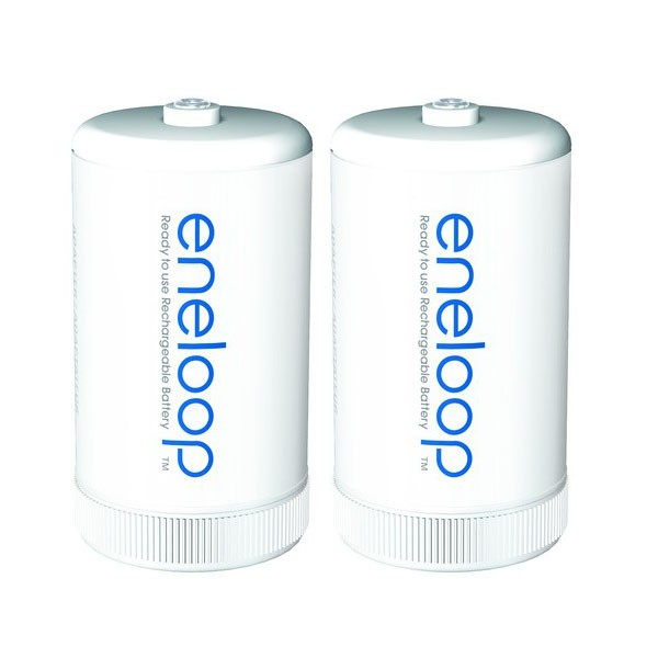 Panasonic eneloop Adapter AA auf Mono D - 2er Set