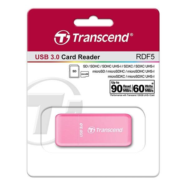 Transcend TS-RDF5R ROSA USB 3.0 Reader für SDHC/SDXC/microSD/microSDHC/microSDXC
