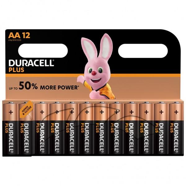 DURACELL AA Plus Power Batterie Alkaline Mignon LR6 1.5V 12er Blister