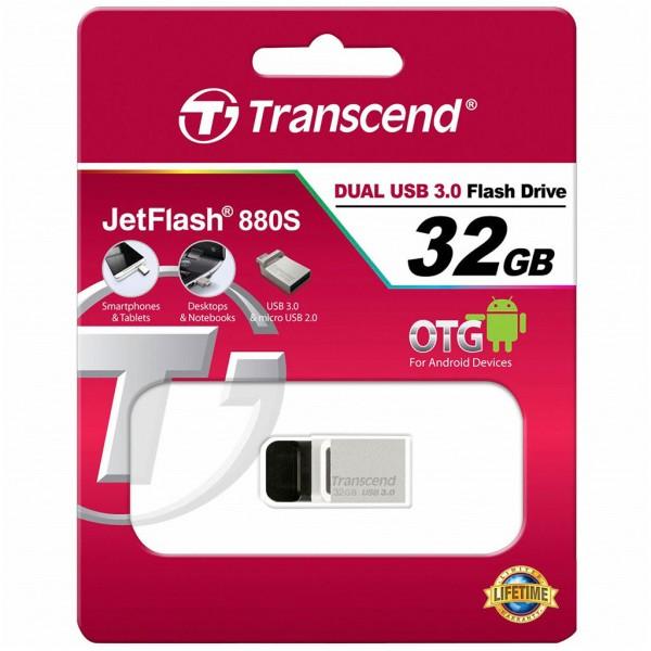 Transcend JetFlash 880S 32 GB OTG microUSB + USB 3.0 TS32GJF880S