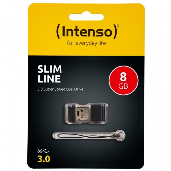 Intenso Slim Line 8 GB USB Stick USB 3.0 SUPERSPEED