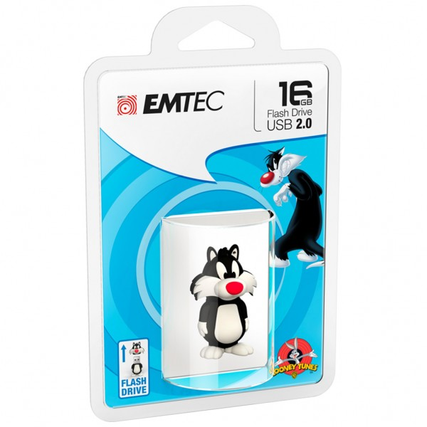 Emtec USB FlashDrive 16GB Looney Tunes (Sylvester)