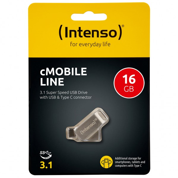 Intenso cMobile Line Type C 16 GB USB Stick 3.0