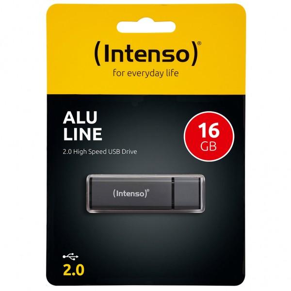 Intenso Alu Line 16 GB USB 2.0 Stick anthrazit