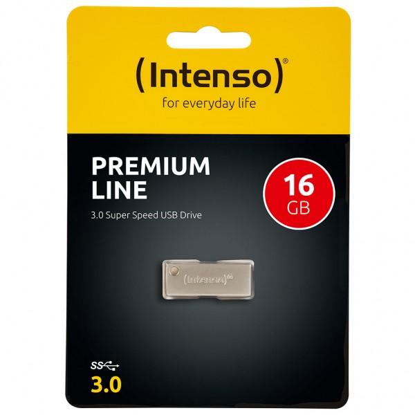 Intenso Premium Line 16 GB USB Stick USB 3.0 SUPERSPEED
