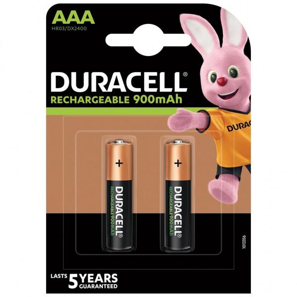 DURACELL Akku Micro AAA HR03 NiMH 1.2V 900 mAh 2er Blister