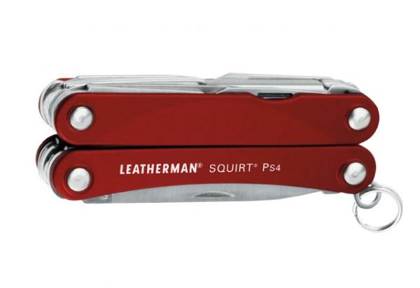 LEATHERMAN SQUIRT PS4 Rot Multifunktionswerkzeug