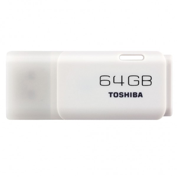 Toshiba USB FlashDrive 64 GB Hayabusa U202 Blister (weiss)