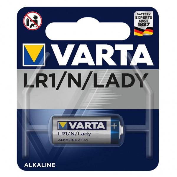 VARTA Batterie Alkaline 4001 LR1/Lady 1.5V Professional Electronics Blister