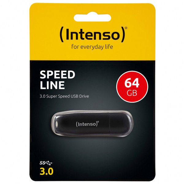 Intenso Speed Line 64 GB USB Stick USB 3.0 SUPERSPEED