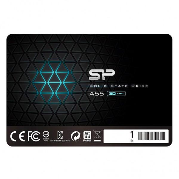 "Silicon Power A55 SSD 2,5"" 1 TB 3D Nand TLC SATA III Festplatte"