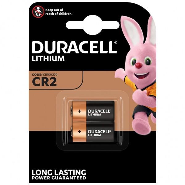 DURACELL 2er Blister Batterie Lithium CR2 3V