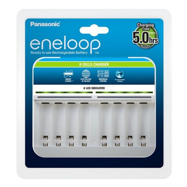Panasonic Ladegerät BQ-CC63 für 8 AA / AAA Akkus