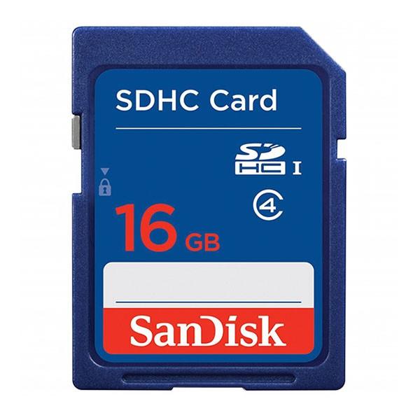 Sandisk SDHC 16 GB Secure Digital HC Karte SDSDB-016G