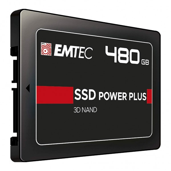 "Emtec Power Plus SSD 2,5"" 480 GB SATA III Festplatte"