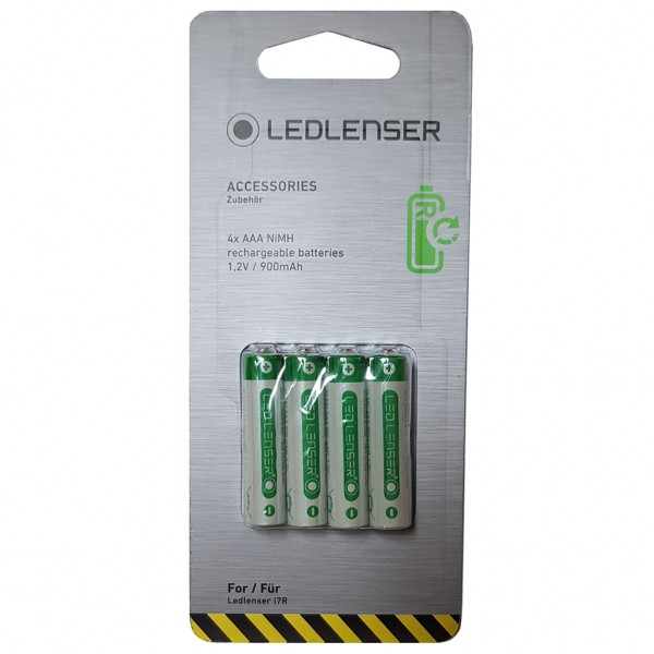LED LENSER 4 x AAA NiMH rechargeable battery 1,2V / 900mAh 500857