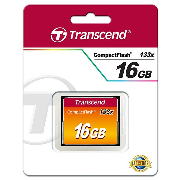 Transcend Compact Flash 16 GB Ultra Speed 133x