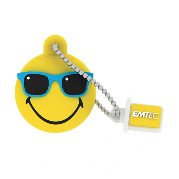 Emtec USB FlashDrive 16GB Mister Hawaii (Gelb)