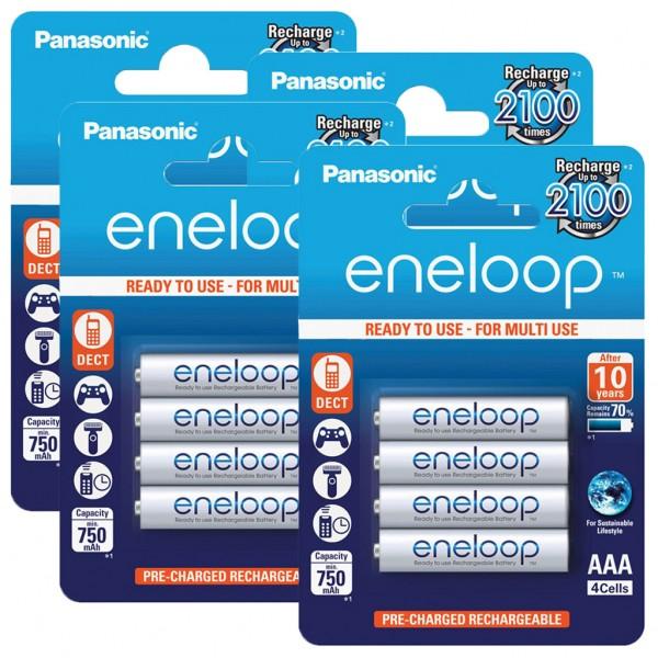 Panasonic eneloop 16er Akku Set AAA BK-4MCCE Blister