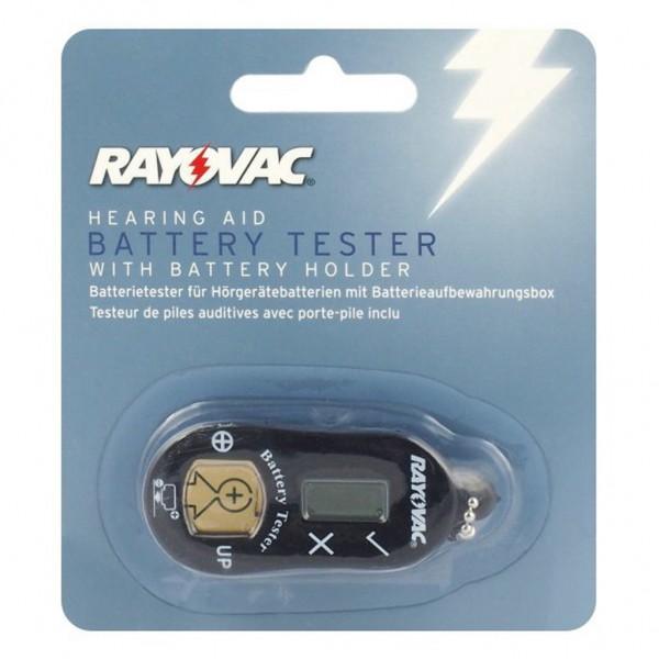 RAYOVAC Hörgeräte Batterietester inkl. Batteriefach