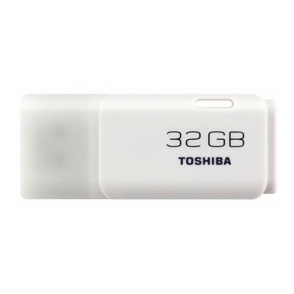 Toshiba USB FlashDrive 32 GB Hayabusa U202 Blister (weiss)
