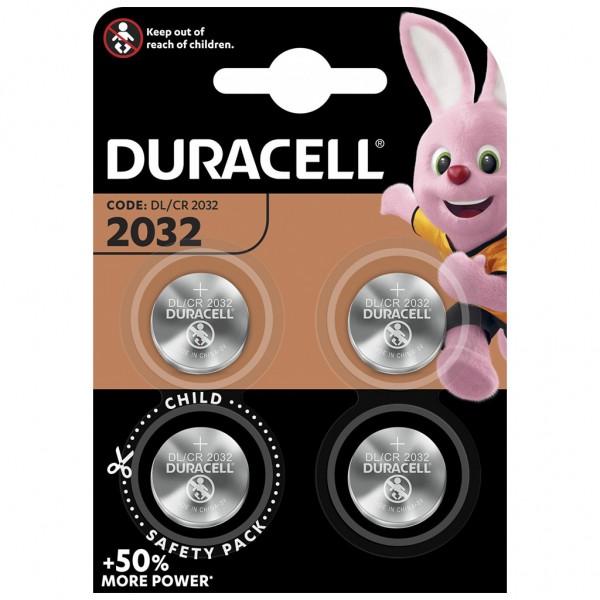 DURACELL 4er Blister Batterie Lithium Knopfzelle CR2032 3V
