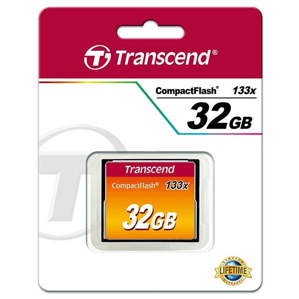 Transcend Compact Flash 32 GB Ultra Speed 133x