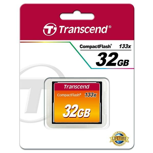 Transcend Compact Flash 32 GB Ultra Speed 133x