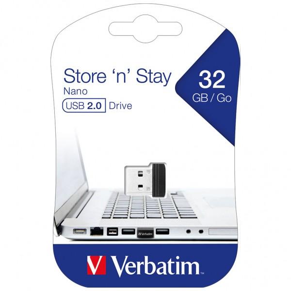 Verbatim USB 32 GB Store 'n' Stay NANO Drive