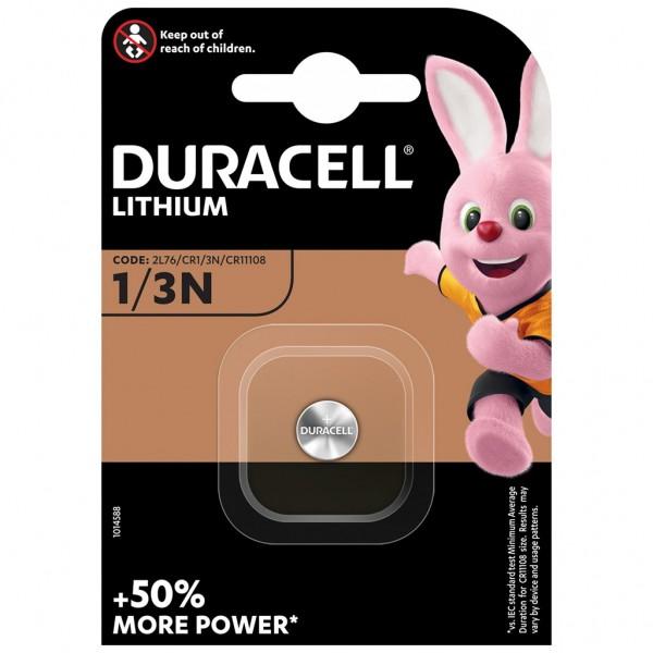 DURACELL 1er Blister Knopfzelle Batterie Lithium CR1/3N 2L76 3V