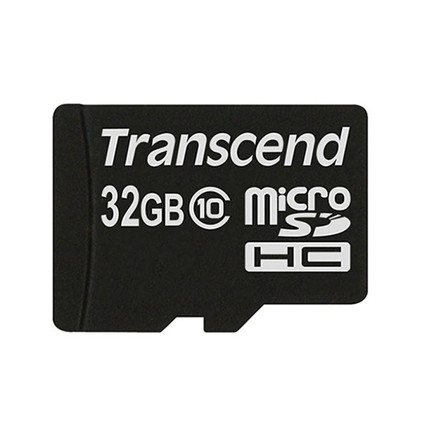 Transcend Micro SDHC 32 GB CARD ONLY Class 10 Speicherkarte TS32GUSDC10