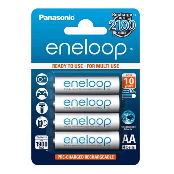 Panasonic eneloop 4er Akku Set AA BK-3MCCE Blister